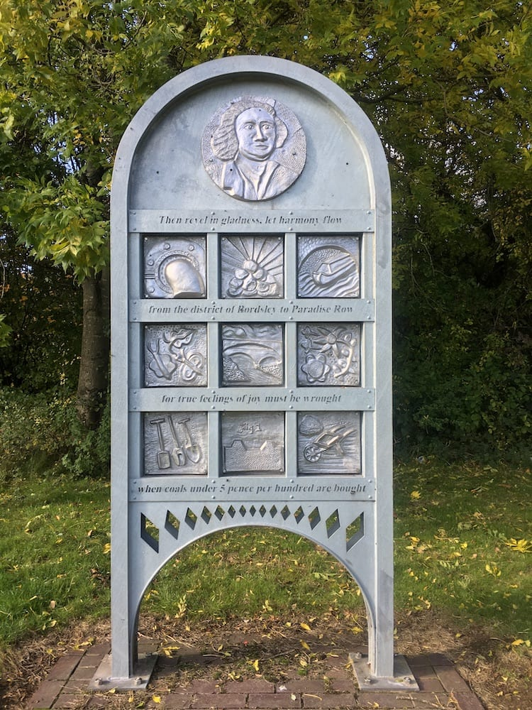 Galton Valley canal history monument