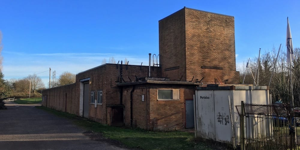 Sandwell Valley Sailing Club building