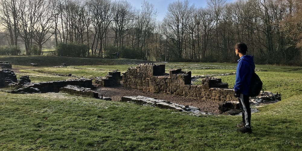 Remains of Sandwell Priory