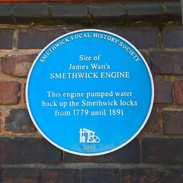 Smethwick Engine blue plaque