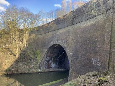 Summit Bridge crossing the BCN Old Main Line canal at Smethwick