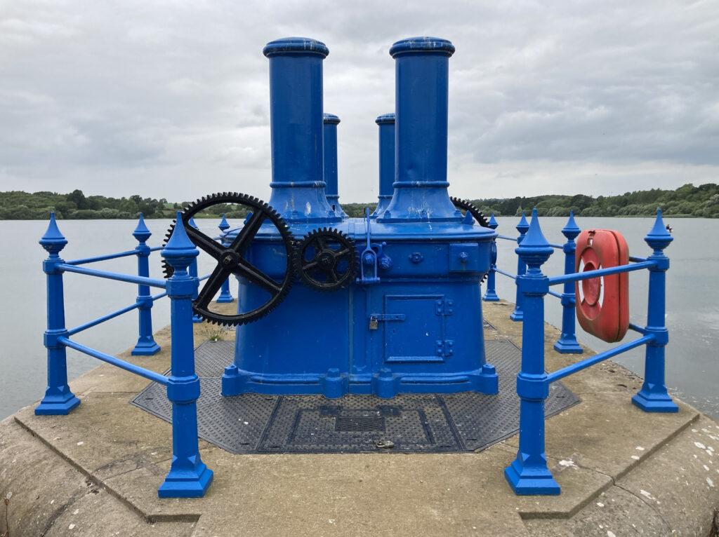 Ravensthorpe Reservoir release valves